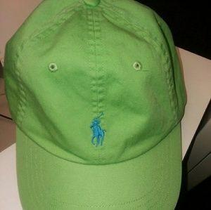 New Green Polo Ralph Lauren Hat